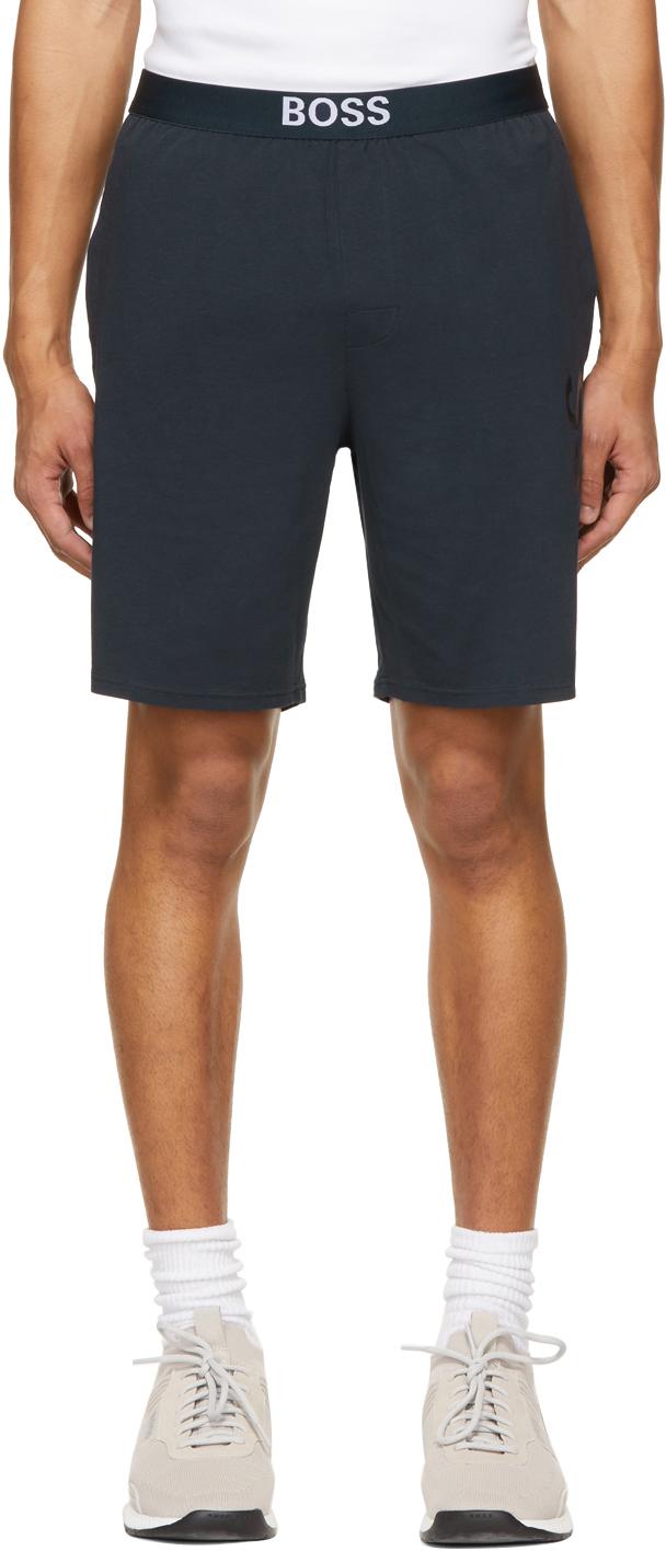 Navy Identity Pyjama Shorts