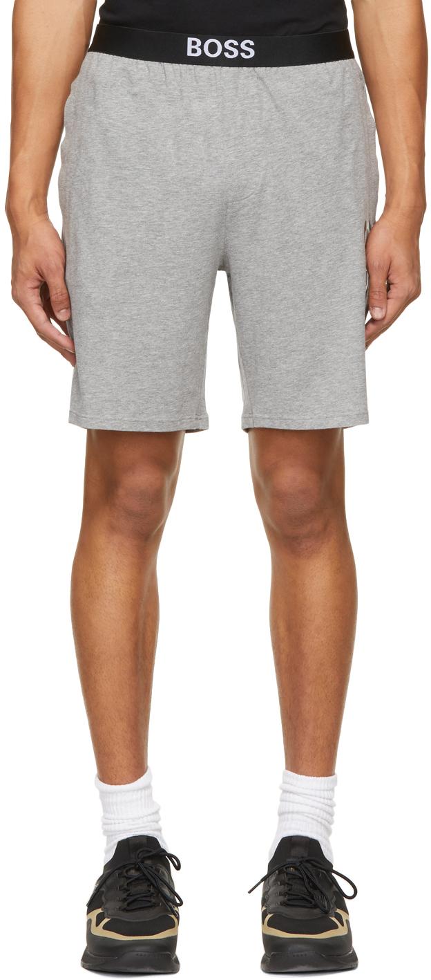 Grey Identity Pyjama Shorts