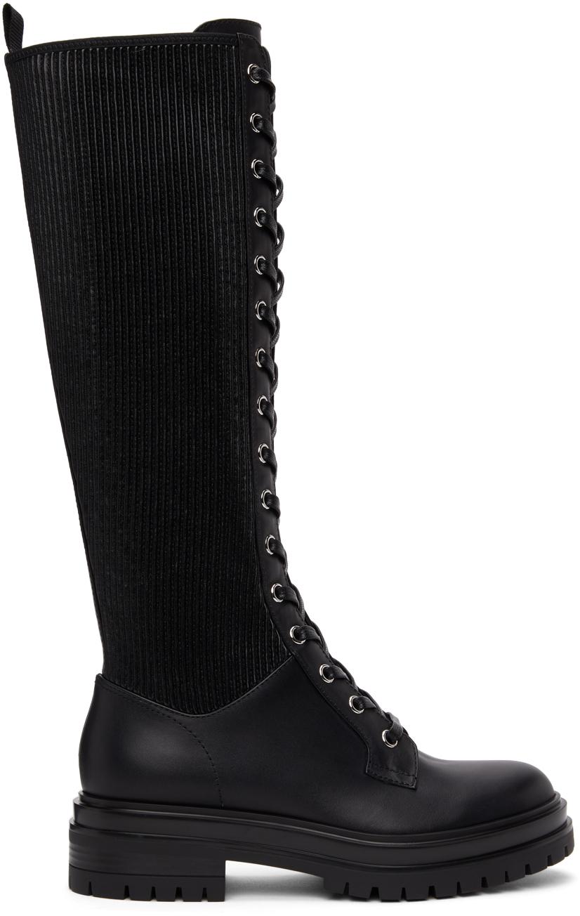 Black Martis 20 Tall Boots