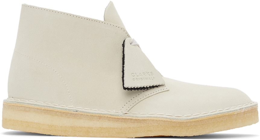 Off-White Suede Desert Coal Boots