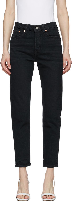 Levi's Black Wedgie Icon Jeans