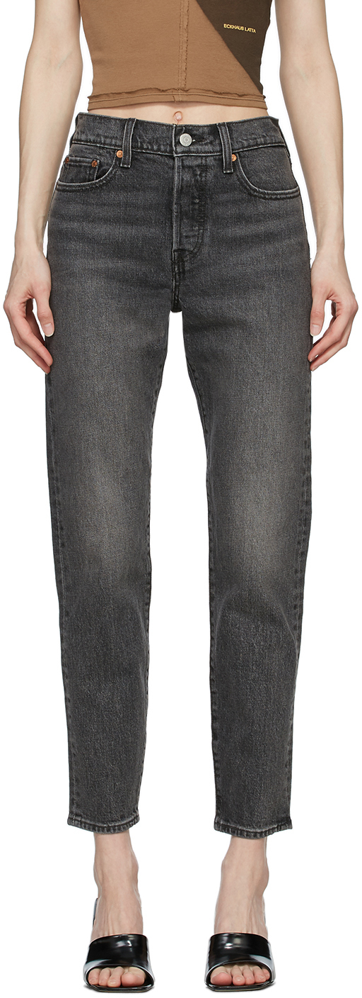 Levi's Grey Wedgie Icon Jeans