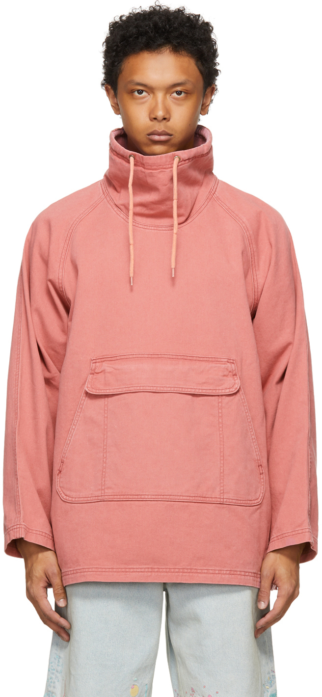 Pink Canvas Smock Jacket