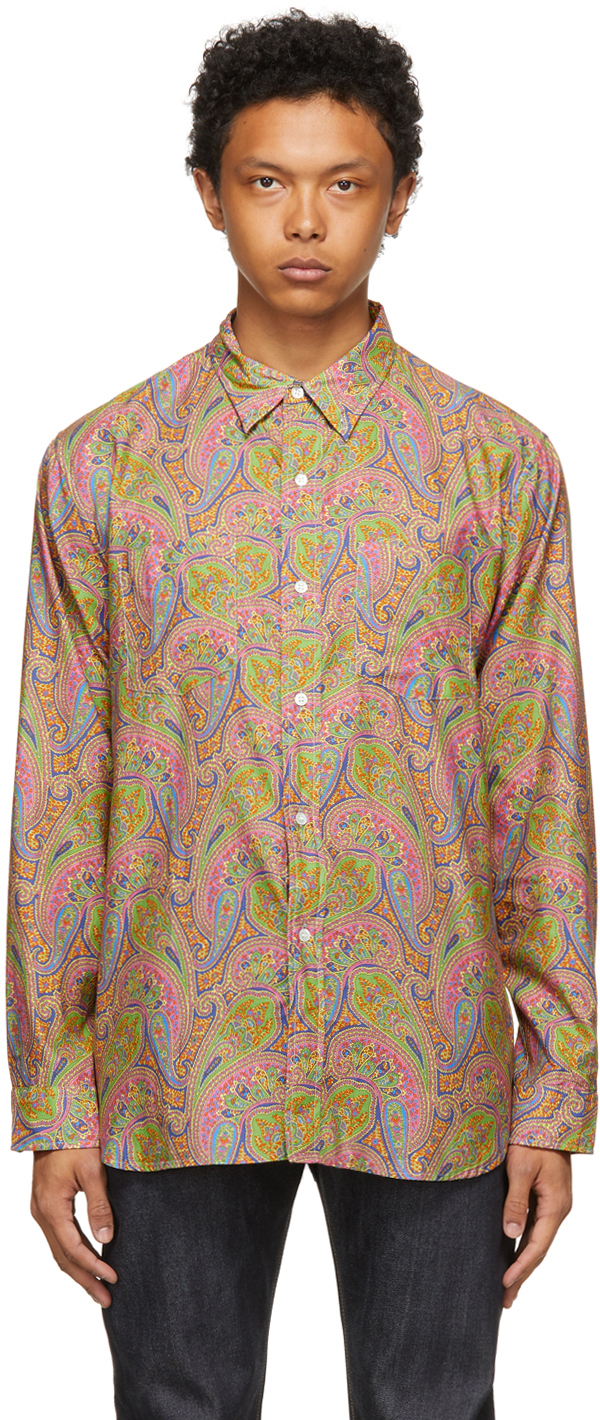Multicolor Central Station Design Edition Paisley 70s Shirt