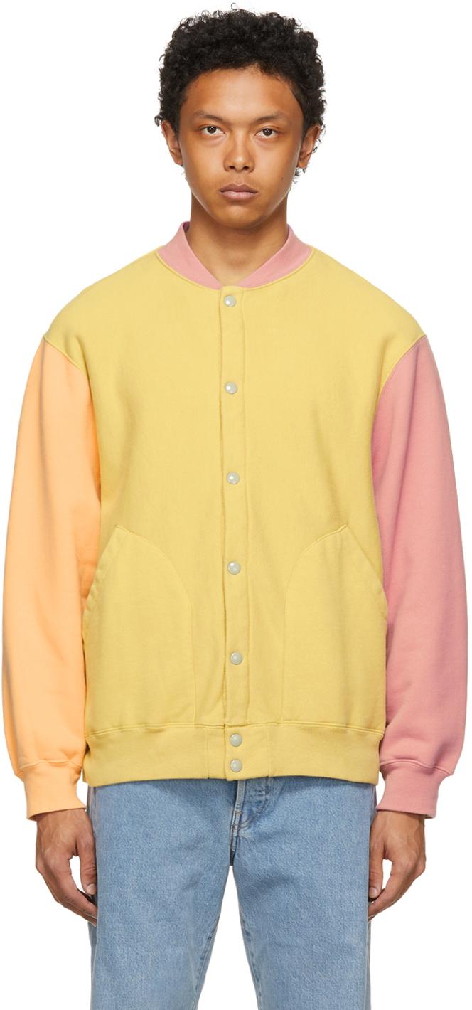 Yellow & Orange Central StationDesign Edition Fleece Jacket