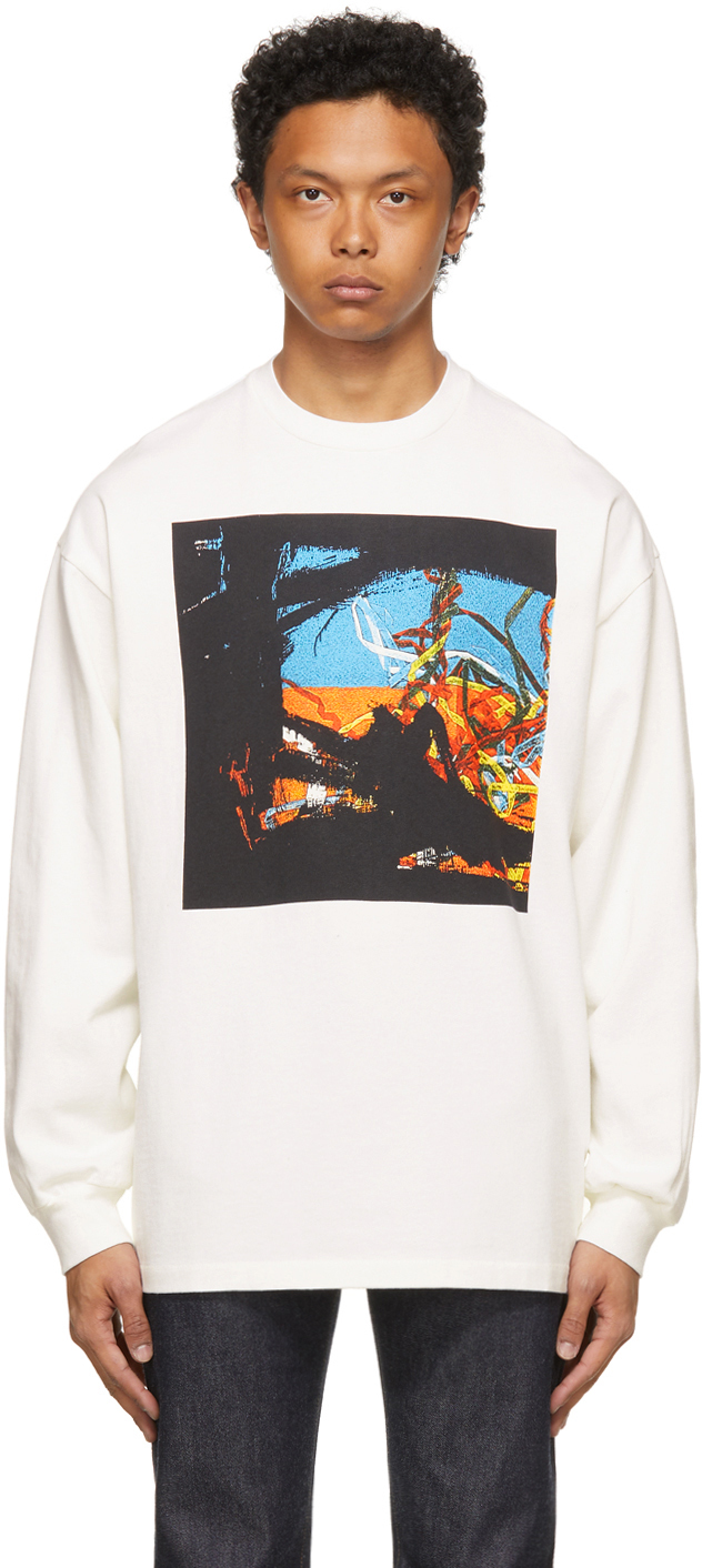 White Central Station Design Edition 80s Graphic Tart Long Sleeve T-Shirt