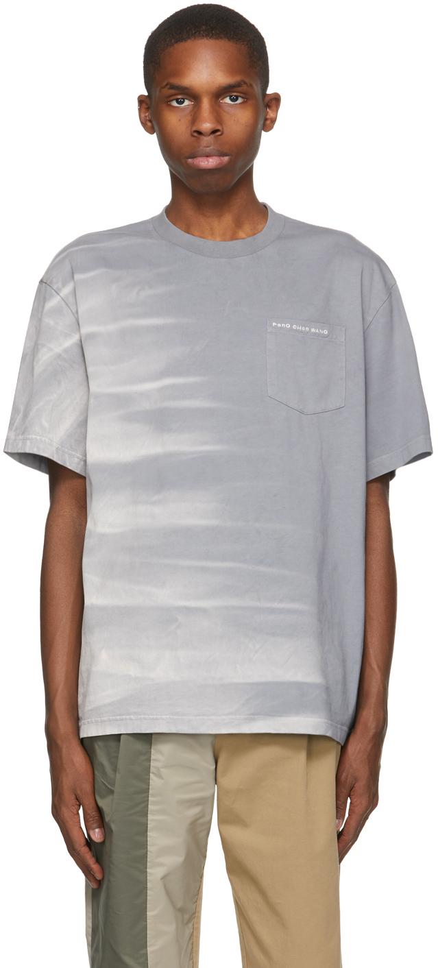 Grey Tie-Dye T-Shirt