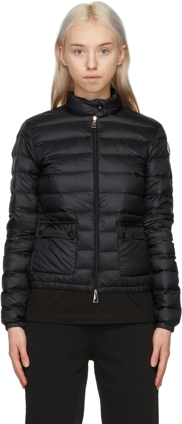 Black Longue Saison Down Lans Jacket