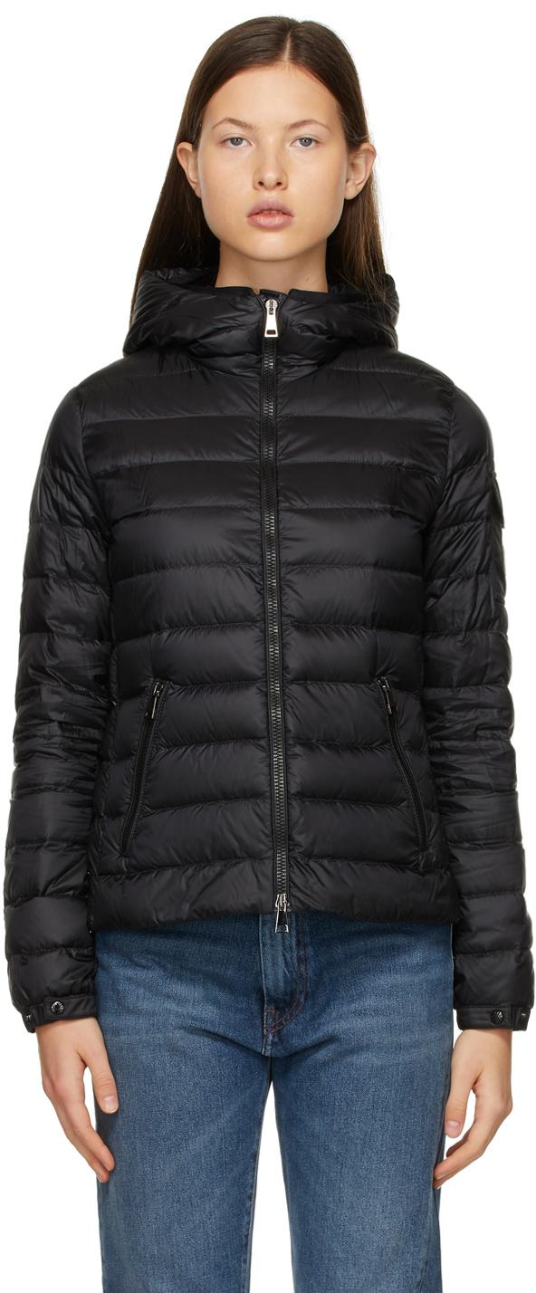 Moncler Black Down Bles Jacket