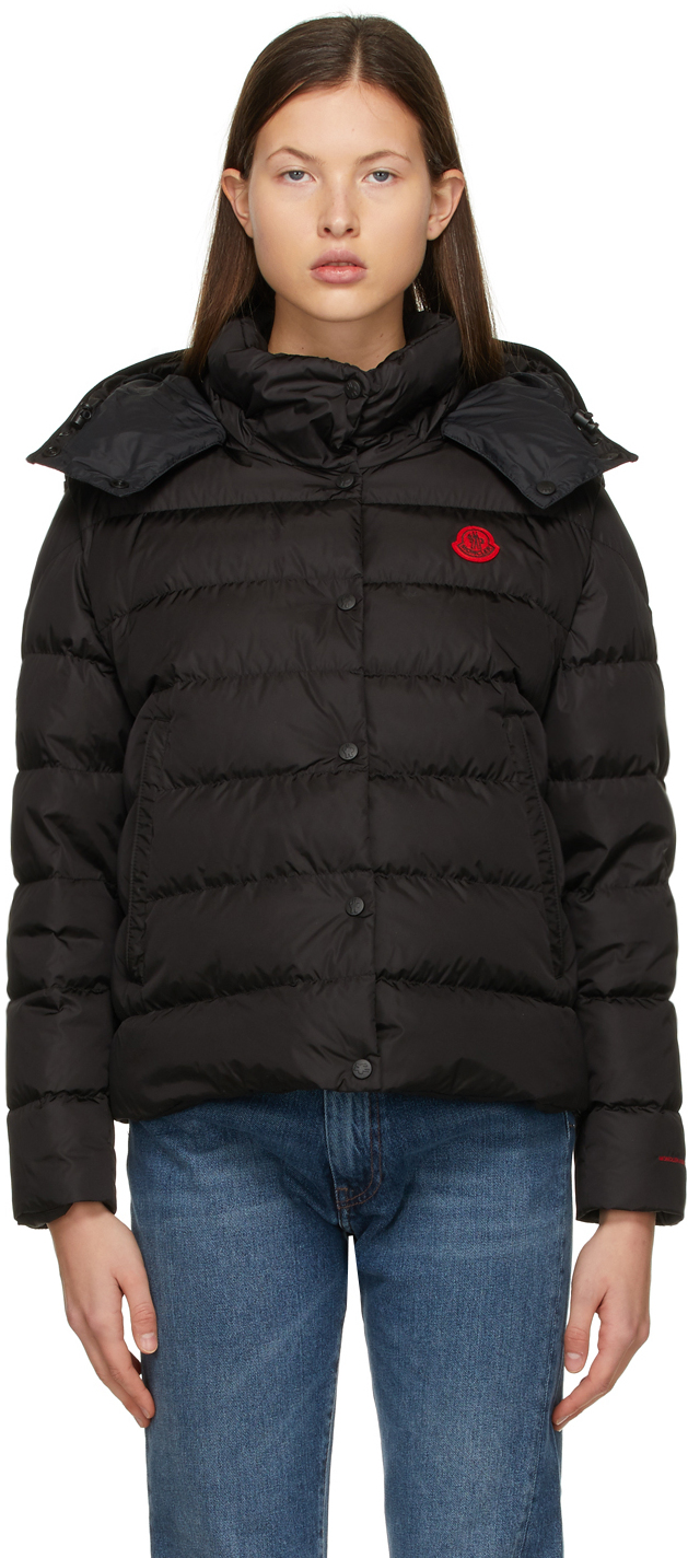 Moncler Black Born To Protect Down Gatope Jacket