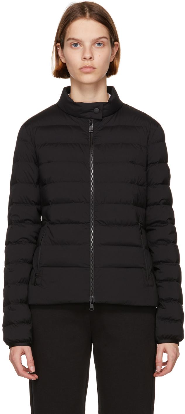 Moncler Black Matt Black Down Kaitos Jacket
