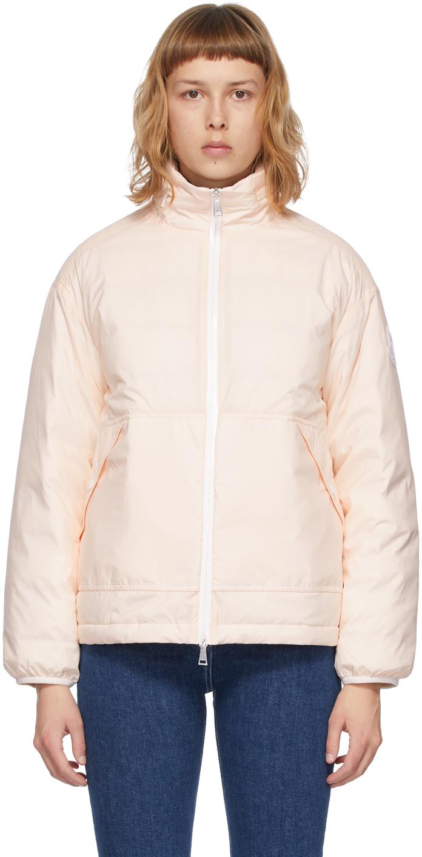 Moncler Pink Down Menchib Jacket