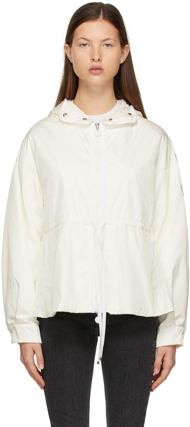 Moncler White Down Meretz Jacket