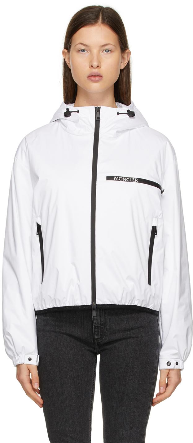 Moncler White Down Adara Jacket