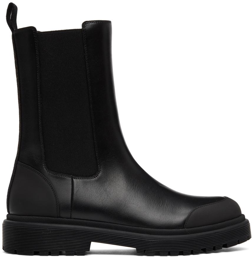 Black Patty Chelsea Boots