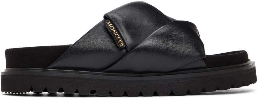 Black Fantine Sandals