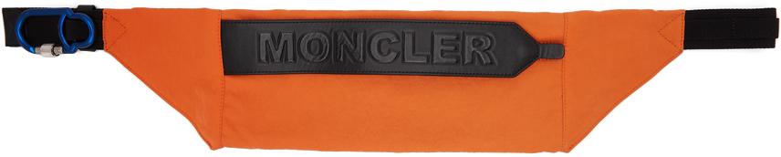 Orange Thunder Belt Bag
