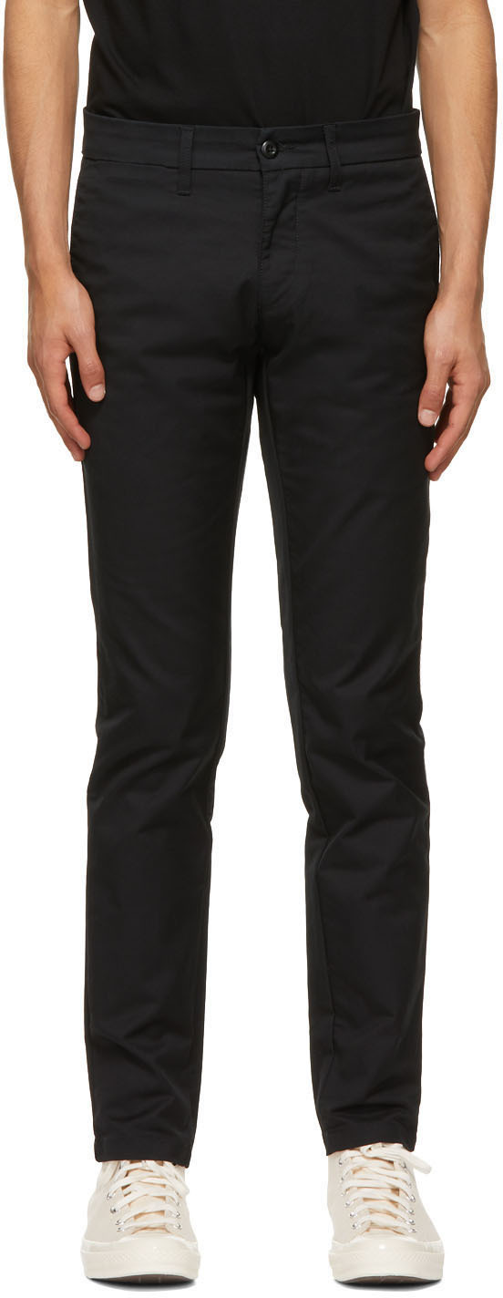 Black Sid Trousers