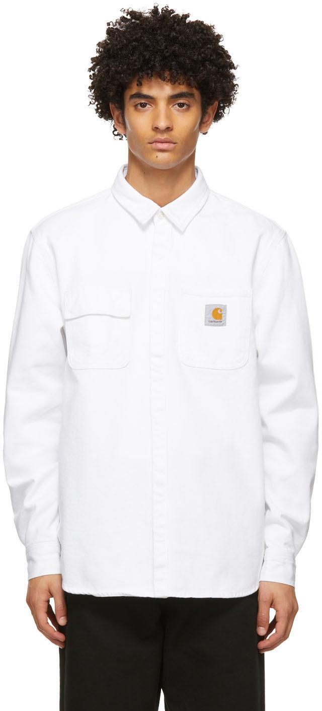 White Denim Salinac Overshirt