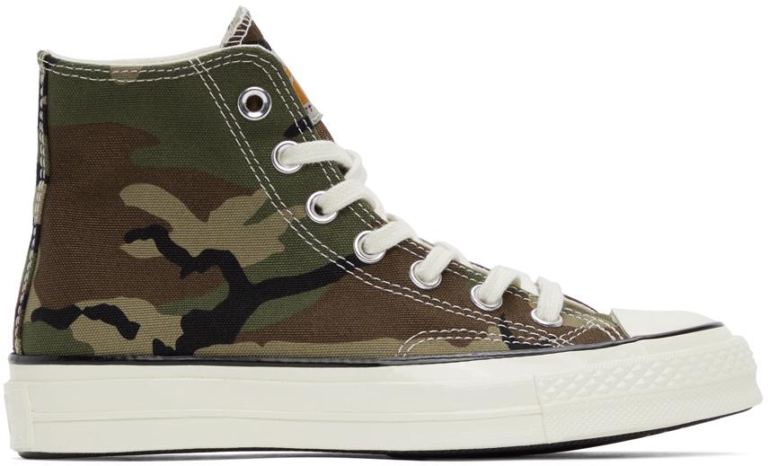 Khaki Converse Edition Covert Chuck 70 High Sneakers