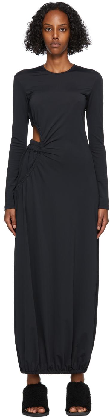 Black Boxer Dress