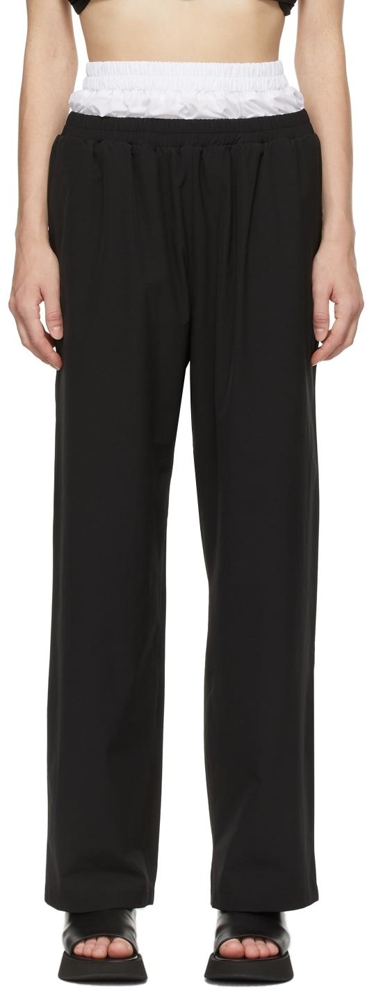 Black & White Boxer Lounge Pants
