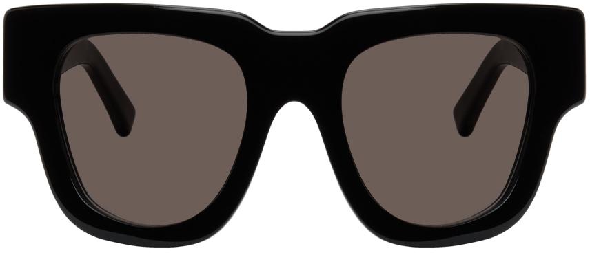 Acne Studios Black Oversized Square Sunglasses 211129F005314