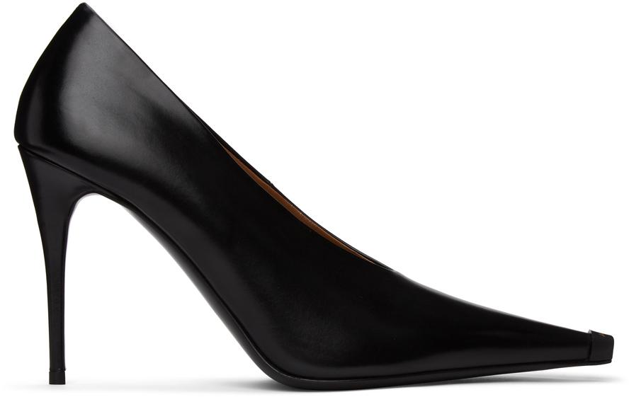 Acne Studios Black Stiletto Pumps 211129F122088