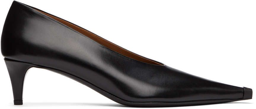 Acne Studios Black Kitten Heel Pumps 211129F122090