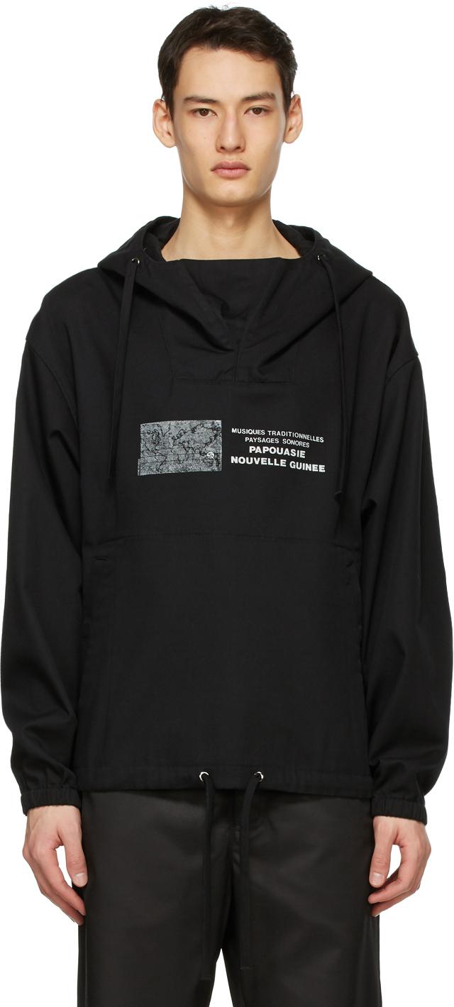 Acne Studios Black Anorak Jacket 211129M180052