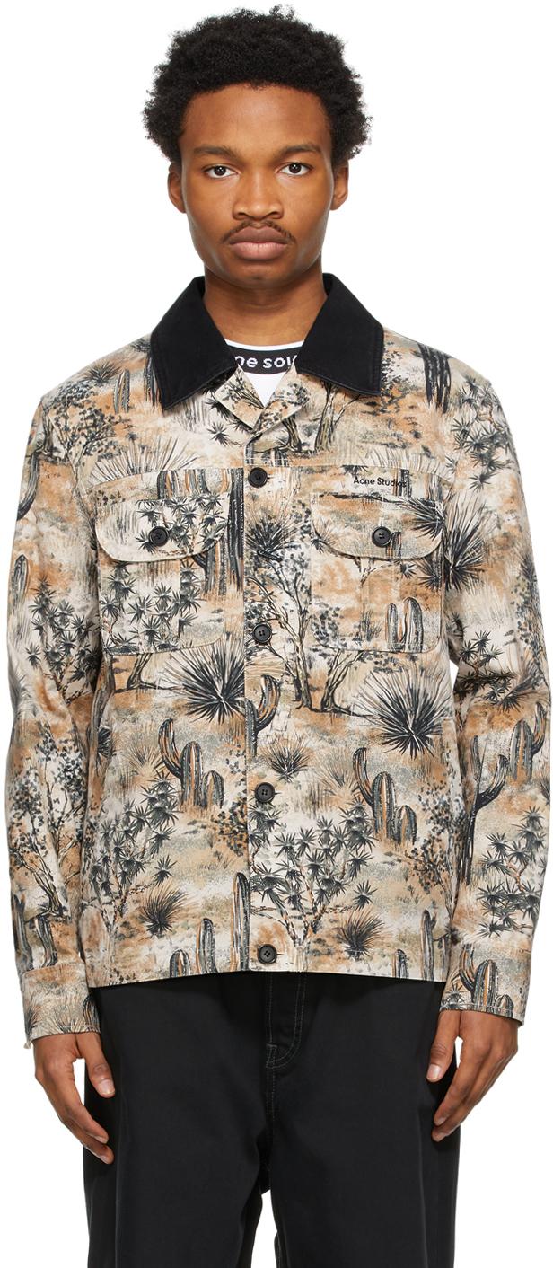 Acne Studios Beige Workwear Jacket 211129M180059