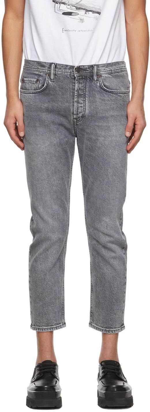 Acne Studios Grey Slim Tapered Fit Jeans 211129M186134