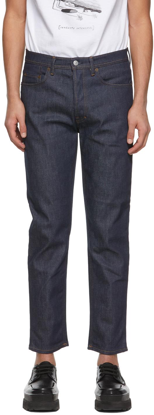 Acne Studios Indigo Slim Tapered Jeans 211129M186139