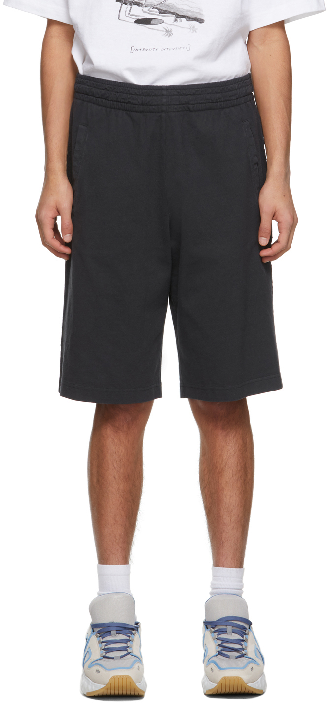Acne Studios Black Relaxed Shorts 211129M193050