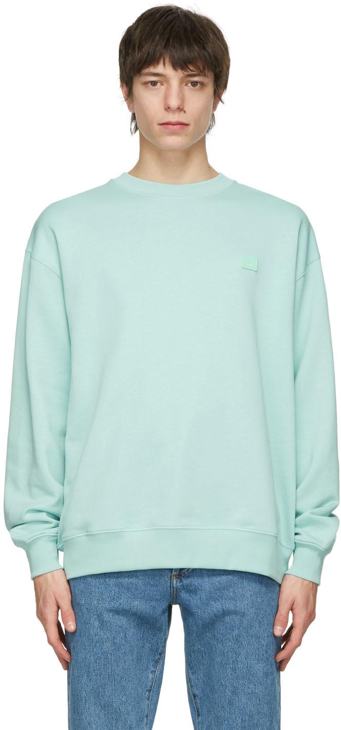 Acne Studios Green Oversized Sweatshirt 211129M204063