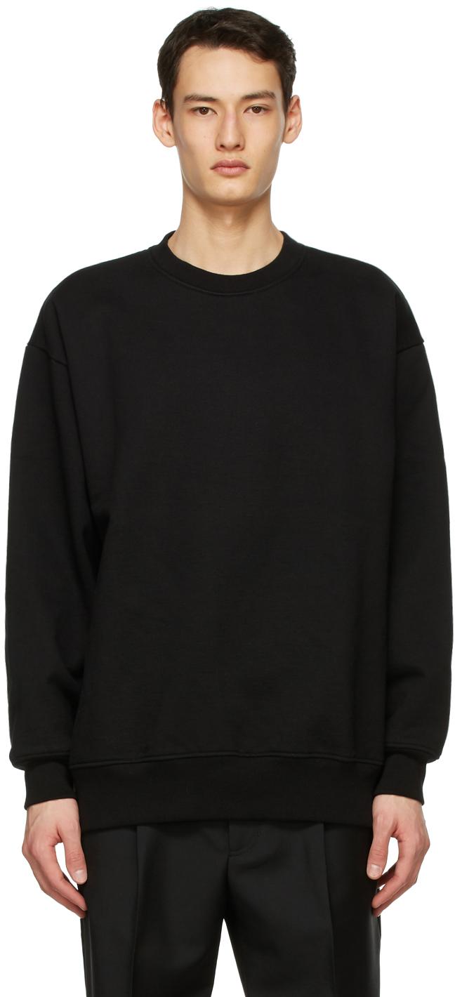 Acne Studios Black Pink Label Sweatshirt 211129M204071
