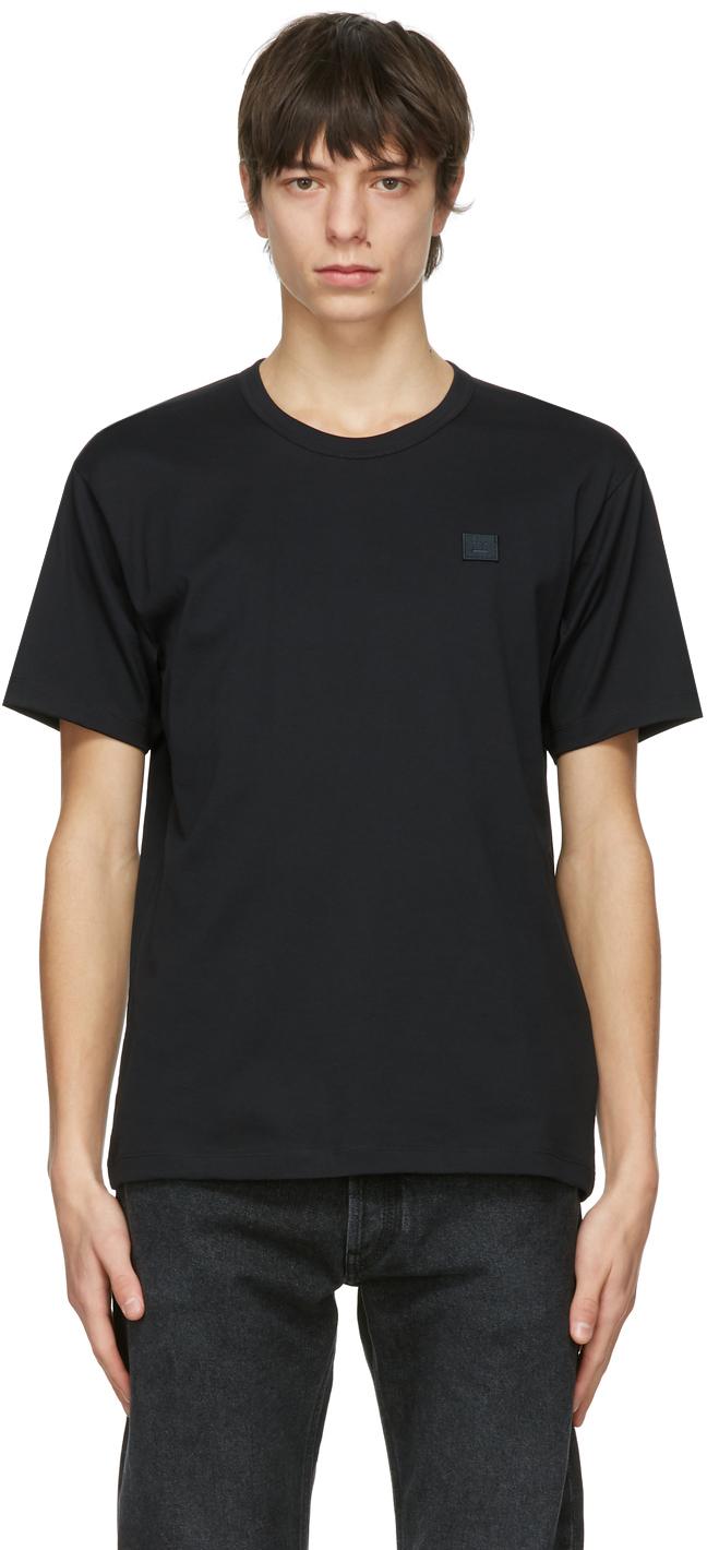 Acne Studios Black Patch T Shirt 211129M213070