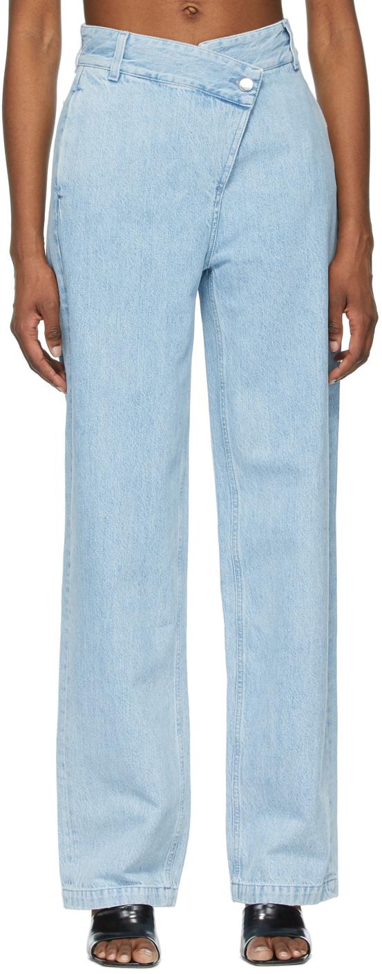 Gauge81 Blue Madras Jeans