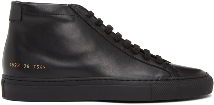 Black Original Achilles Mid Sneakers