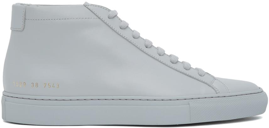 Grey Achilles Mid Sneakers
