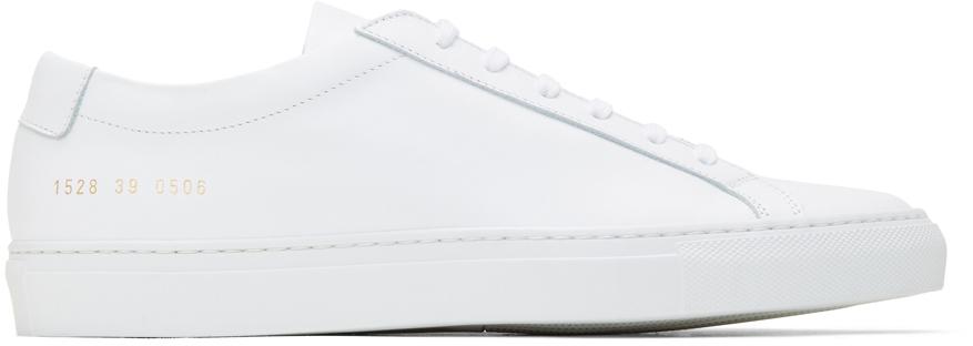 White Original Achilles Low Sneakers