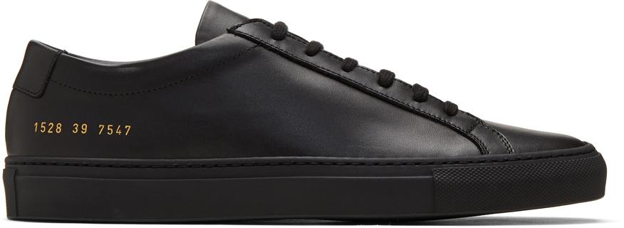 Black Original Achilles Low Sneakers