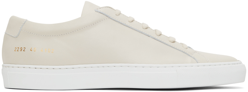Beige Original Achilles Low Sneakers