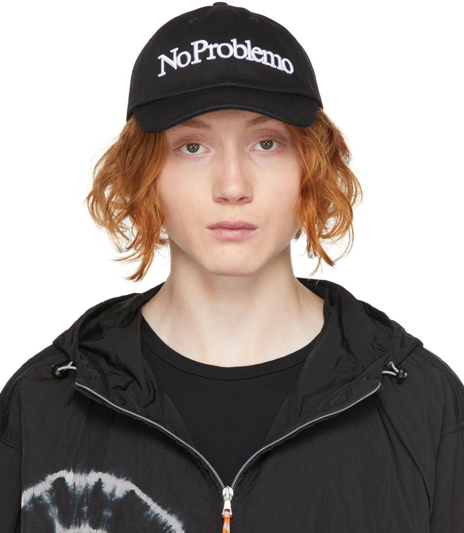 Black 'No Problemo' Cap