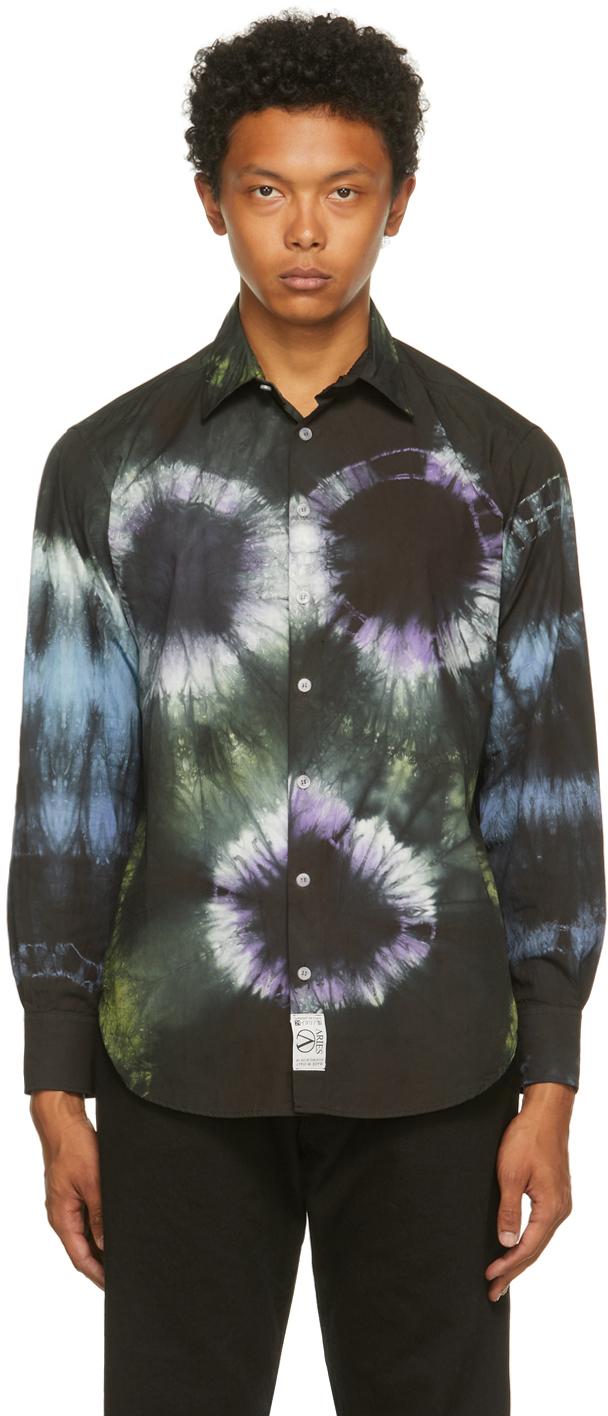 Multicolor Tie-Dye Headlights Shirt