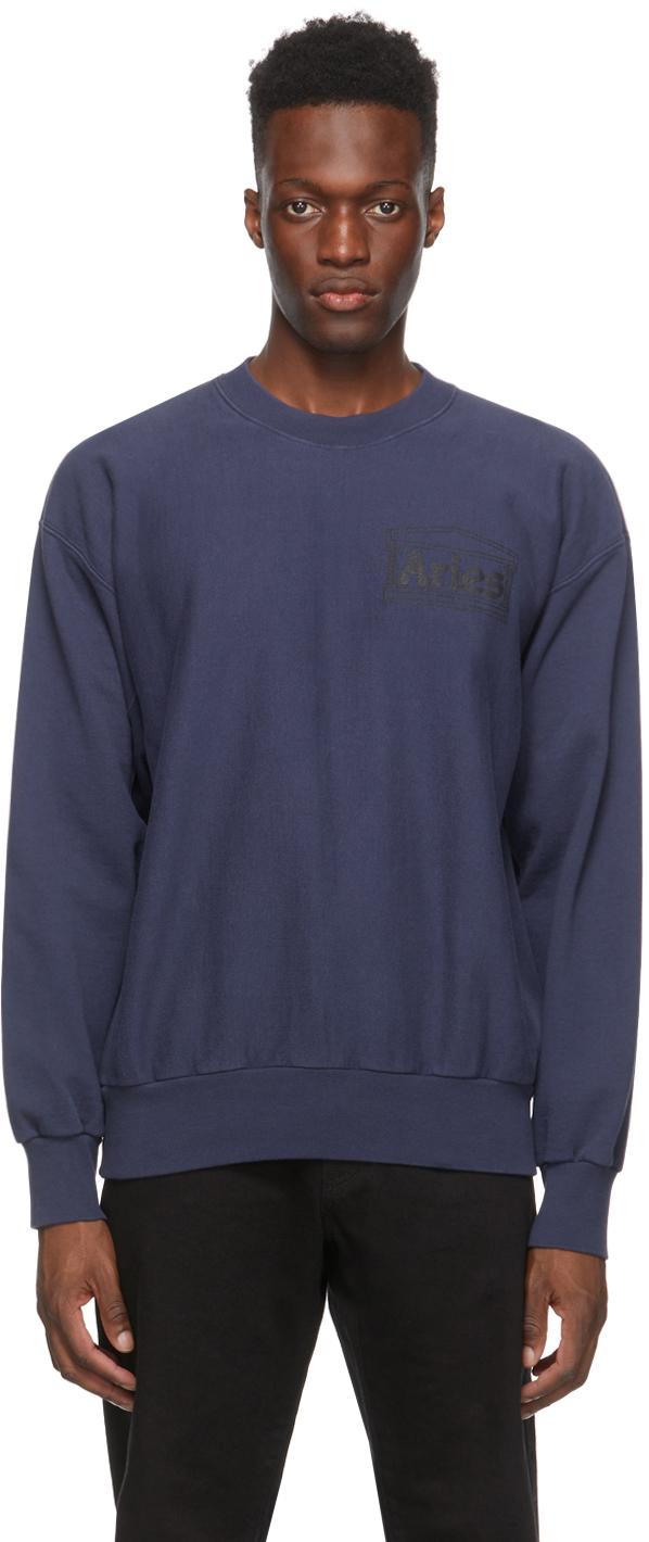 Navy Premium Temple Sweatshirt