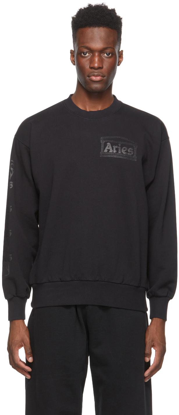 Black Column Sweatshirt