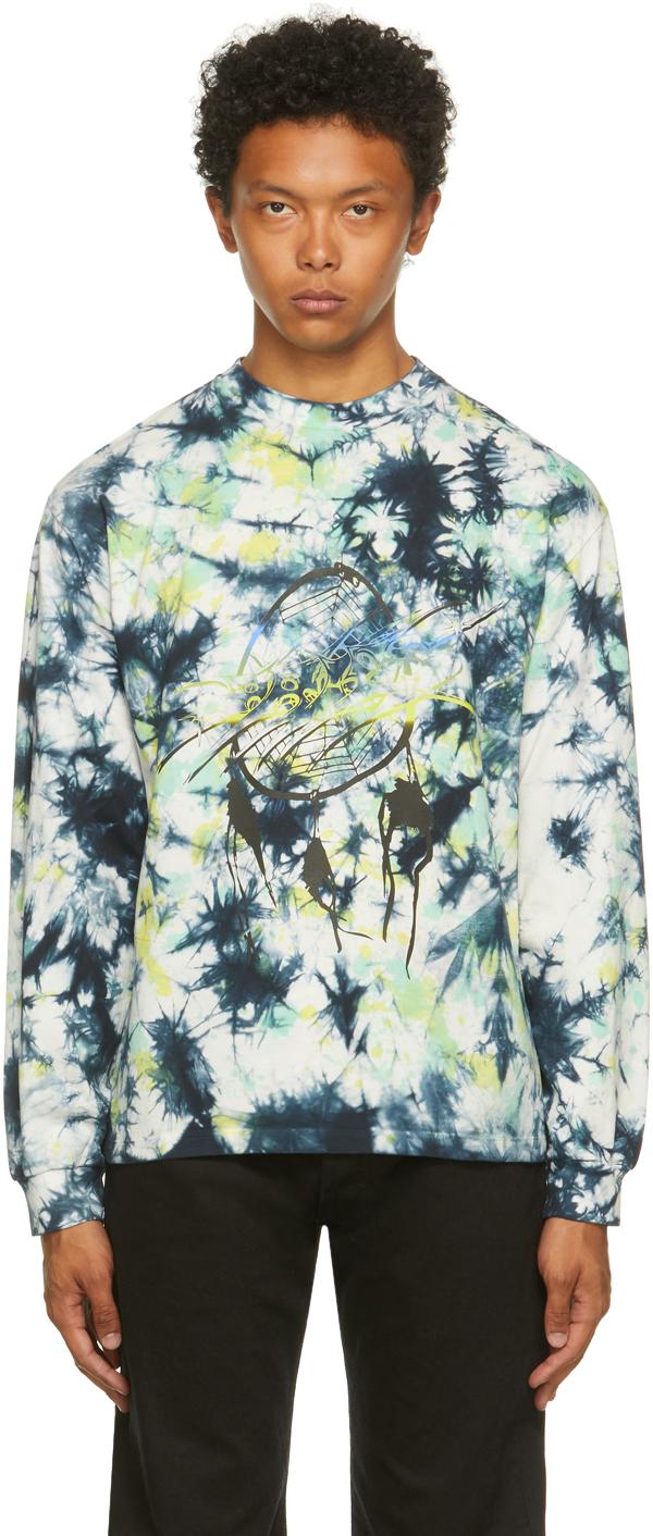 Multicolor Tie-Dye Dreams Long Sleeve T-Shirt