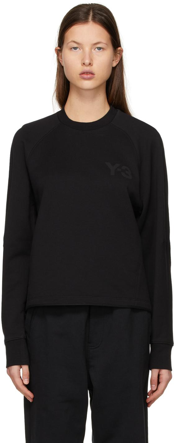 Y-3 黑色 CL 徽标套头衫