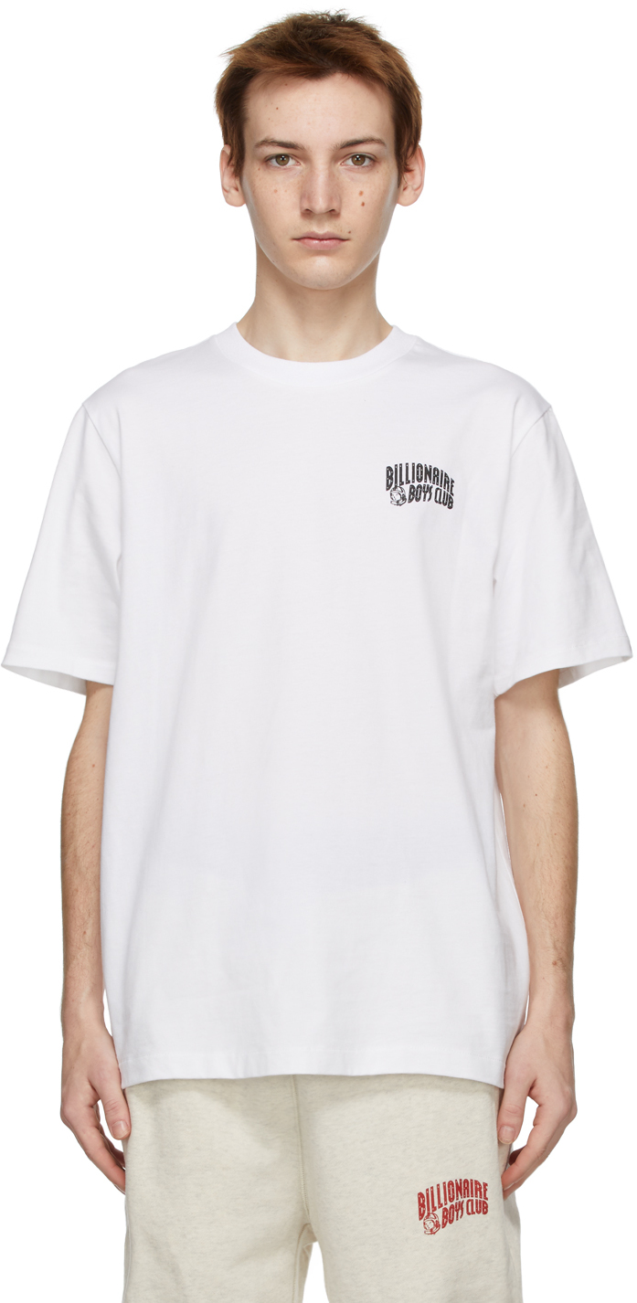 White Small Arch Logo T-Shirt